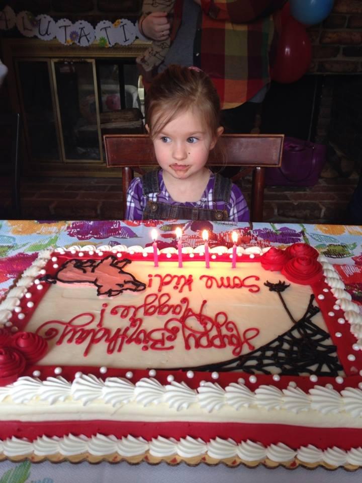 cake chocolate face