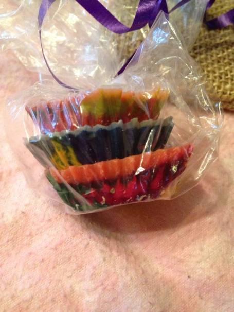 soda cap crayons